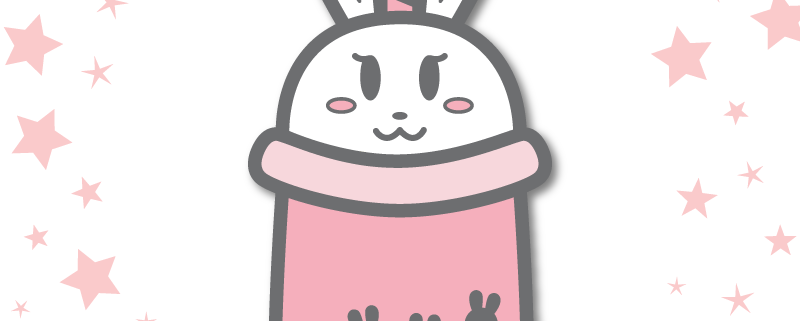 Bunny Boba Enamel Pin Design - Cutie Bunni